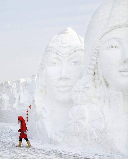 Harbin Ice Festival, NE China.