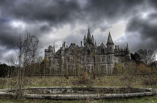 Belgium abandoned castle