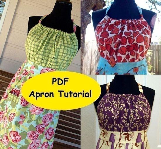 apron pattern @Marjorie Devlin