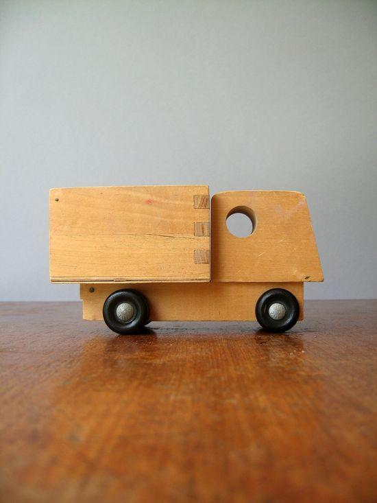 Creative Playthings Wooden Dump Truck - Julian Winston.