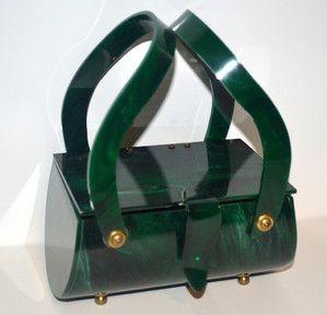 hunter-green-lucite-handbag