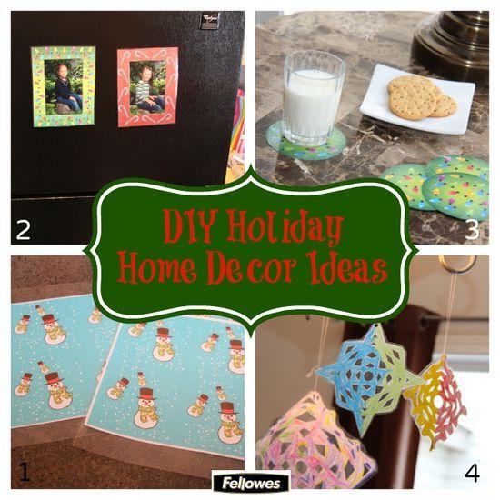 DIY Holiday Home Decor Ideas