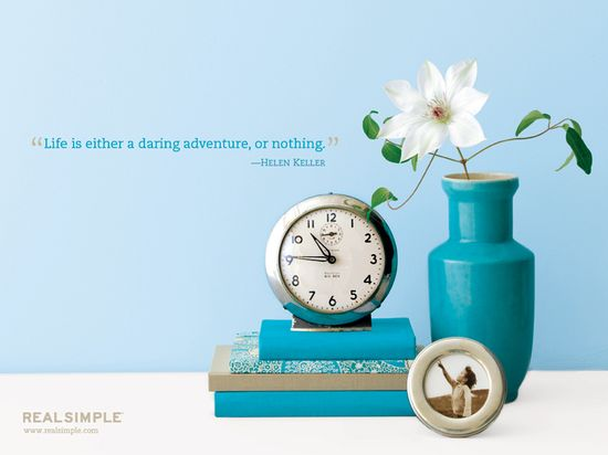 Helen Keller quote, Real Simple wallpaper