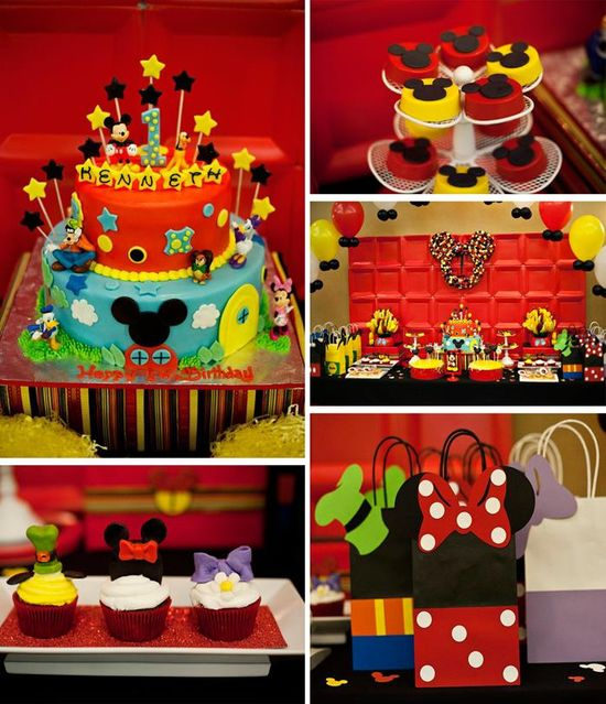 Mickey and Friends Party FULL of FUN IDEAS via Kara's Party Ideas
