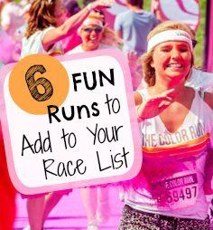 6 Races So Fun, You'll Forget You're Exercising!
