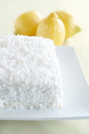 Coconut cake w/ cream cheese frosting