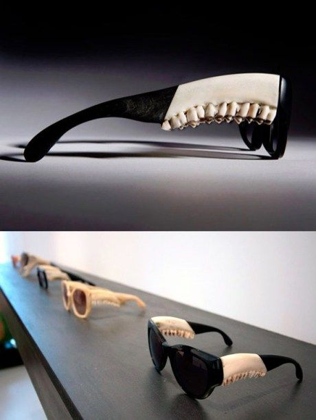 Creepy sunglasses - why? Who would buy these?