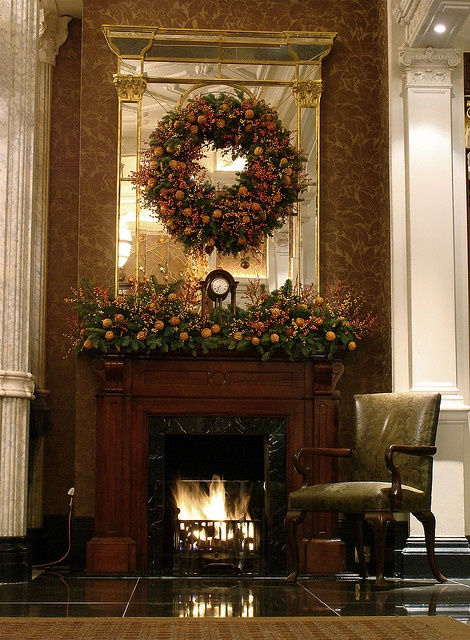 The Connaught Hotel Christmas 2008 by Ken Marten