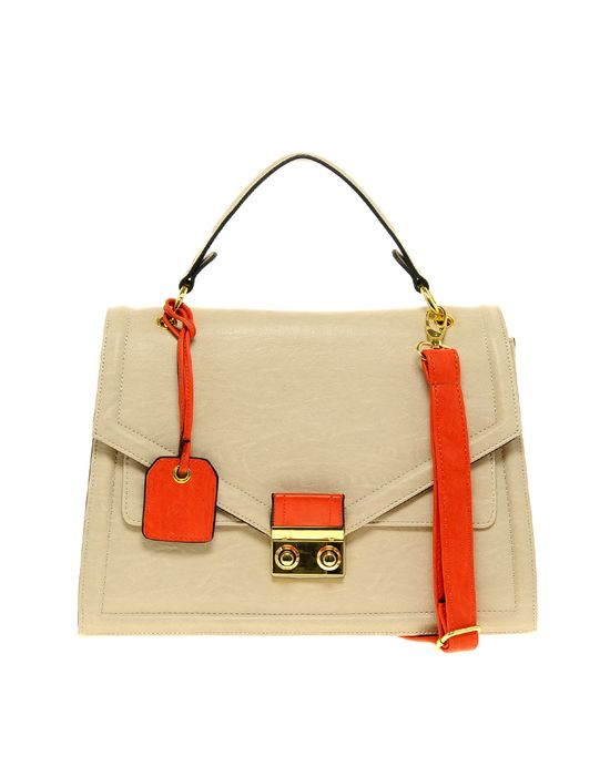 Such a beautiful handbag - loving the orange accents