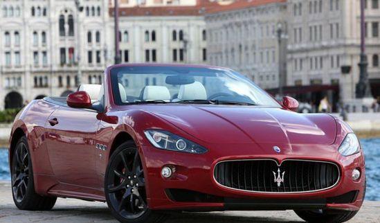 Maserati Grancabrio.  #maserati #grancabrio #convertible #maroon #exotic #cars #autos #luxury #luxurycars #luxe #dreamcars #wishlist #sport  www.gmichaelsalon...