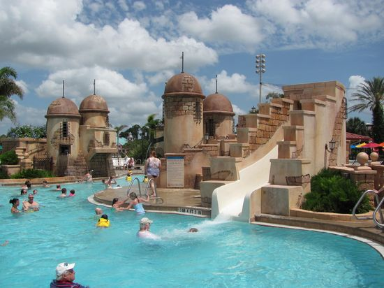 Disney's Caribbean Beach Resort Main Pool