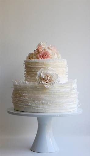 Rose Frill Cake by Maggie Austin Cake