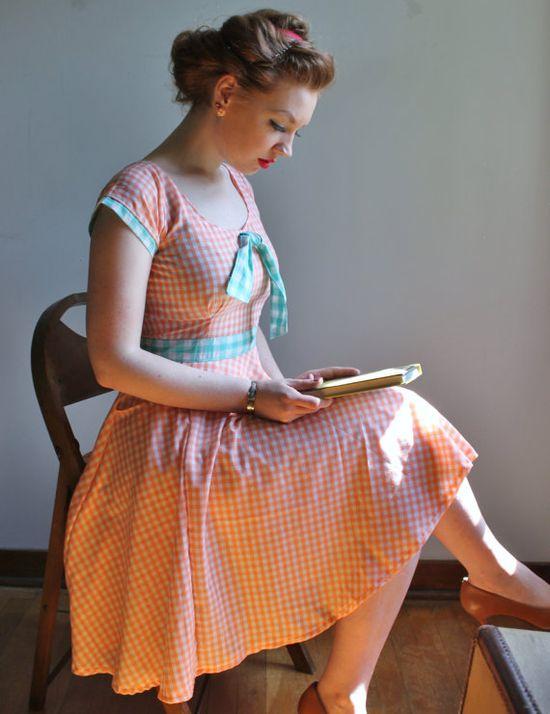 The Goldilocks Pocket Dress by necessityisthemother on Etsy, $65.00