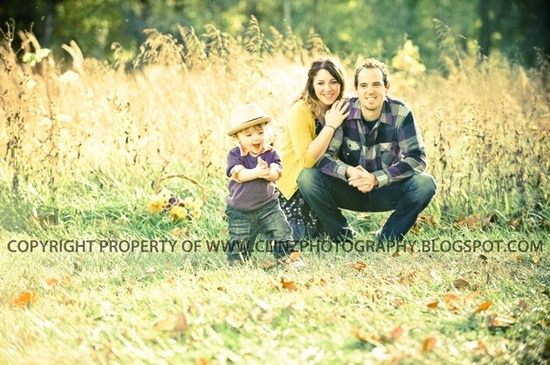 cute family of 3