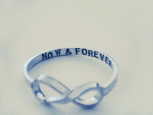 ...want this!  ••• Infinity ring•••