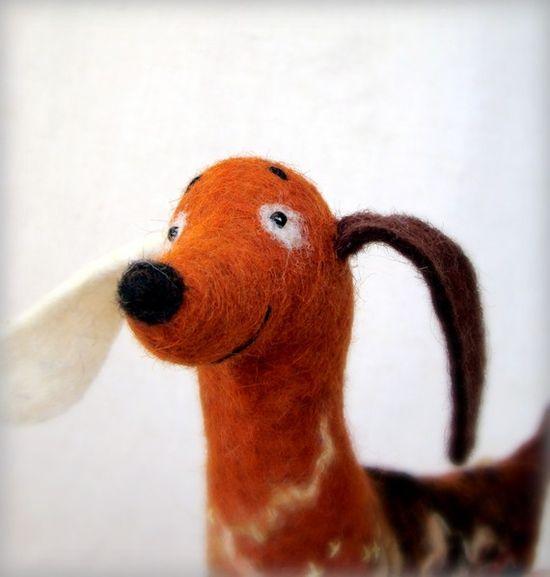 Felt Wiener Dog!