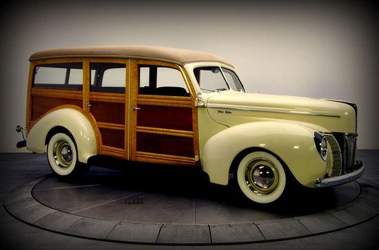 The Art Deco Era: Cars of the 1940's