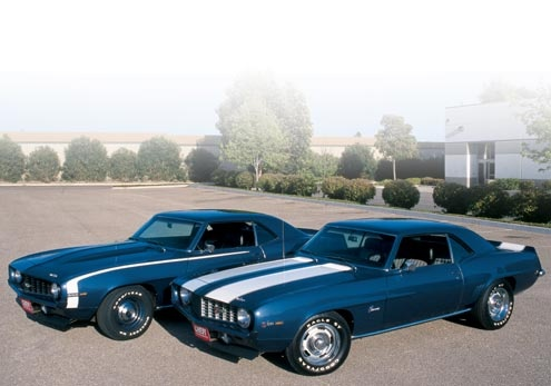 1969 - SS and Z28 Camaro's.
