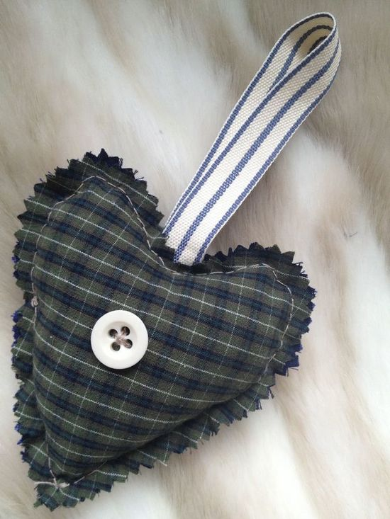 hand made fabric heart: £4.00