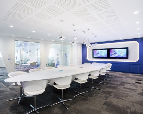 Swarovski Crystal Office Design