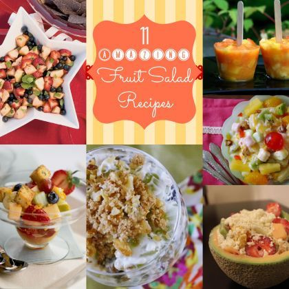 11 Amazing #Fruit Salad Recipes