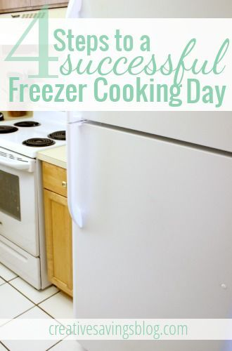 Great freezer cooking tips
