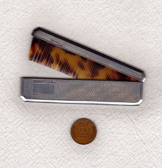 vintage pocket comb