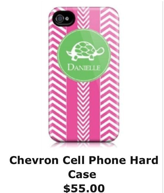 Chevron cell phone case :)