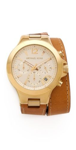Michael Kors wrap watch.