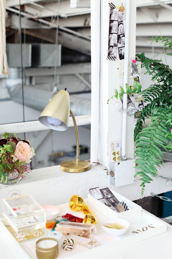 Inside The Stylish Office Of Design Love Fest | theglitterguide.com
