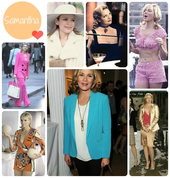Samantha from sex and the city - always rocks her outfits