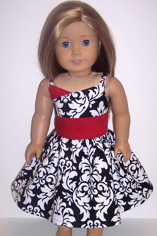 wrap top dress (Liberty Jane website)