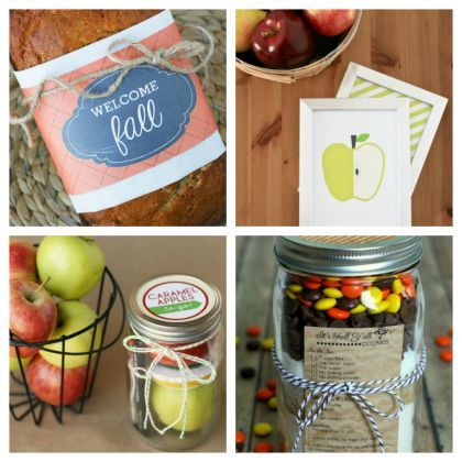 Fall For It: 10 Fall Gift and Treat Ideas