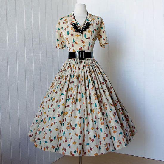 Day Dress 1950