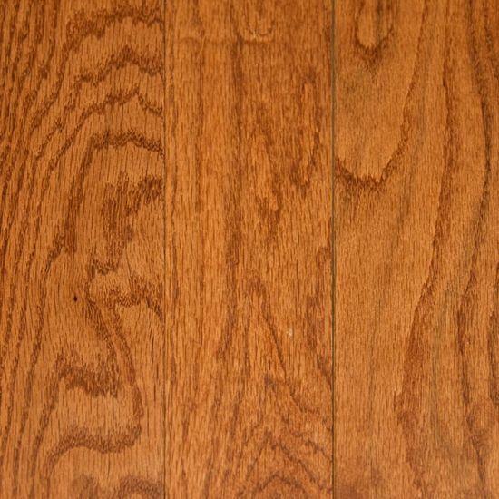 Gunstock Oak Solid Hardwood HG; Floor & Decor; 3.49 sq ft; hallway; den