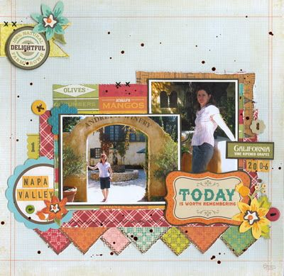#papercraft #Scrapbook #layout   layout close to home.Brought to you by Paper Issues