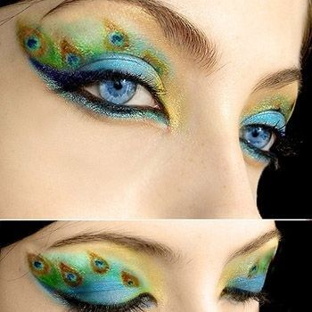 Peacock Eye Makeup Pictures