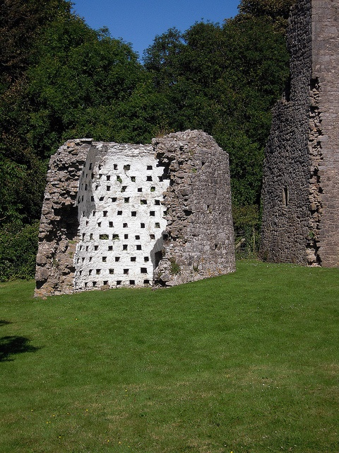 The Dovecote at Oxwich Castle by Karmon, via Flickr