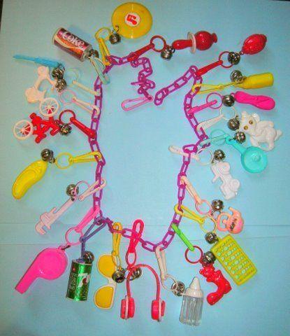 80s charm necklace. I so had this! I wish I still did!!!