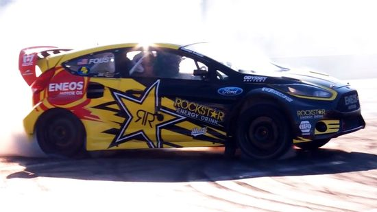 Hot Rods, Muscle Cars & Drifting with Tanner Foust! - 2013 SEMA Week Ep....