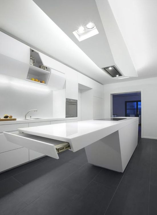 Interior .. Ultra modern kitchen design