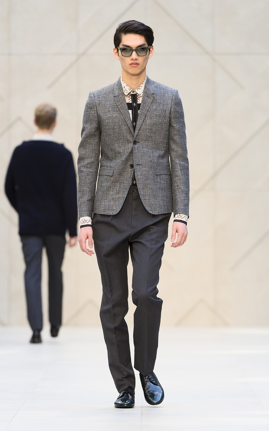 The Burberry Prorsum Spring/Summer 2013 show
