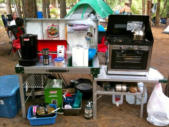 Camping cooking tips