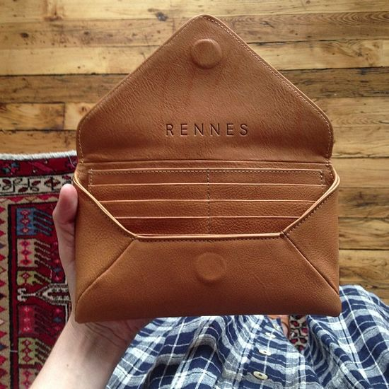 Rennes leather wallet MXS / pouch