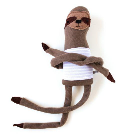 Handmade Plushy Sloth Friend