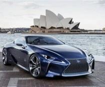Lexus LF-LC Hybrid Concept