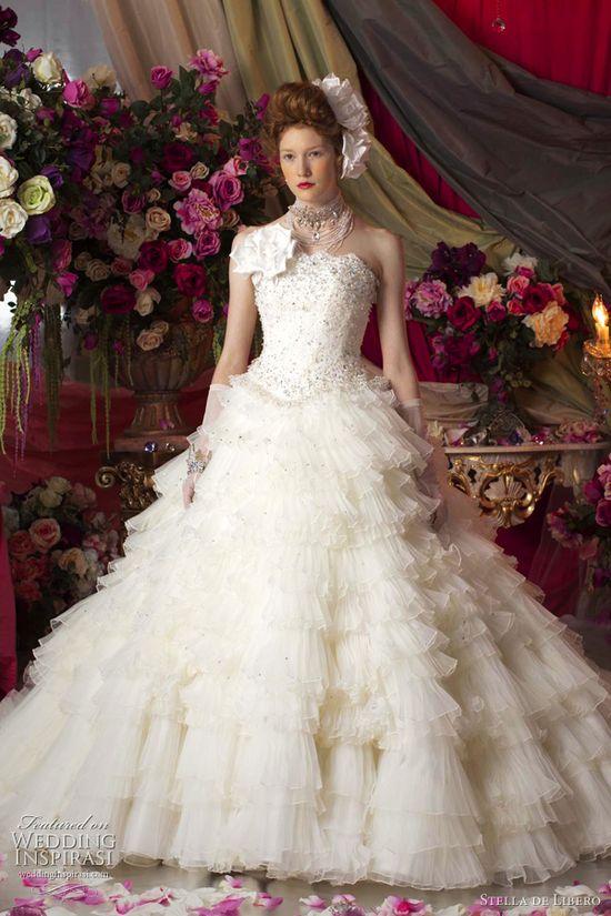 stella de libero wedding dresses 2011