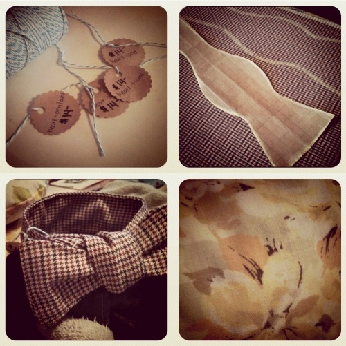 handmade bow ties.