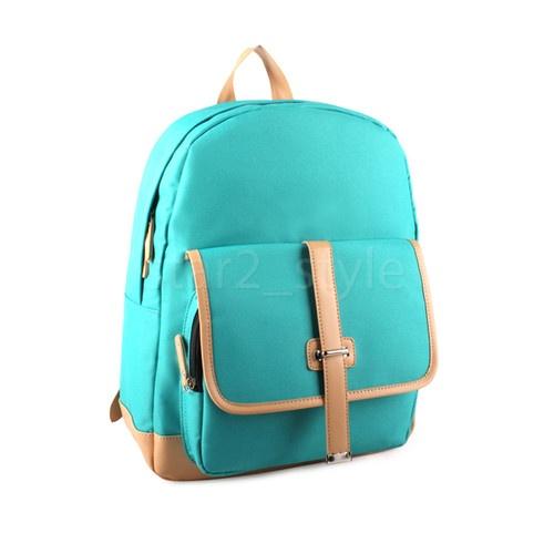 Brand New Korea Fashion Laptop Backpacks Simple Stylish School Backpack 211V