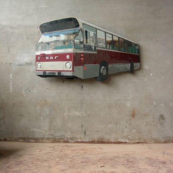 Interesting 3d artworks by Ron van der Ende.